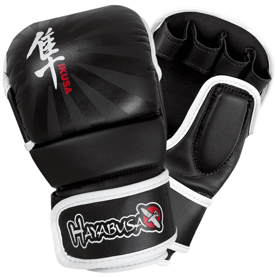 Перчатки для ММА Hayabusa Ikusa 7oz Hybrid Gloves Black