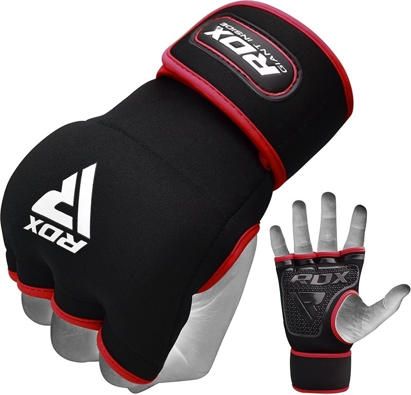 Быстрые бинты RDX Grappling Glove Neoprene X8 Red
