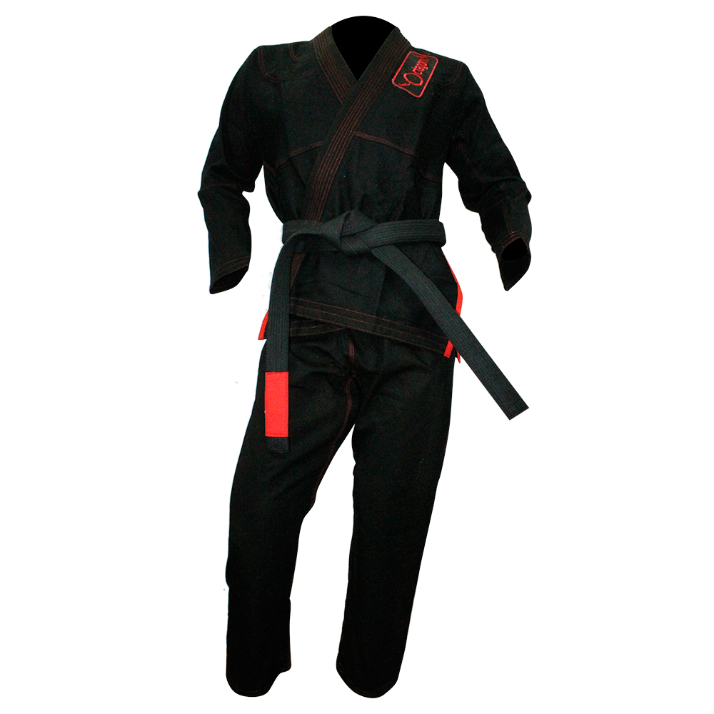 Кимоно Octagon BJJ Uniform с поясом- Black&