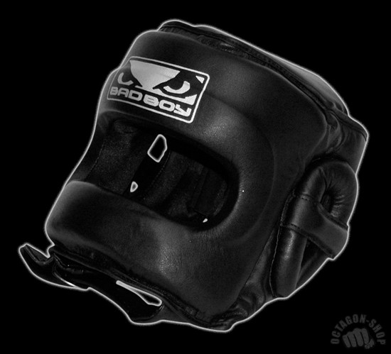 Шлем Bad Boy Pro Series 2.0 Face Saver Head Guard фото 4