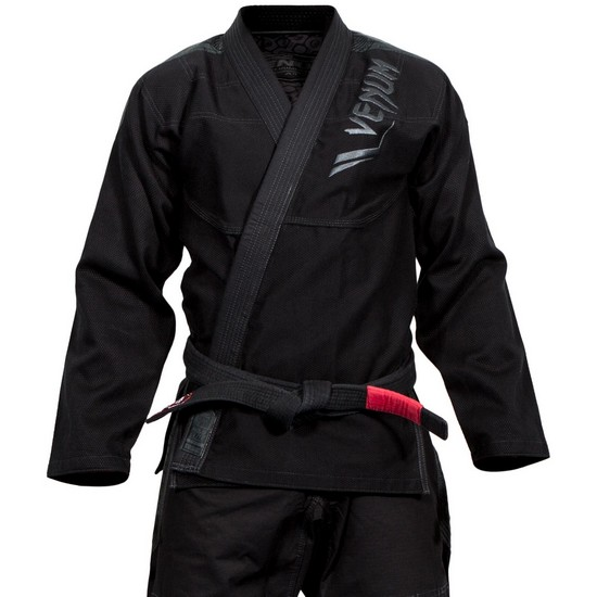 Кимоно Venum Elite Light BJJ Gi - Black/Black
