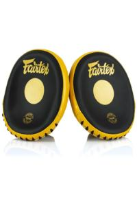 Лапы FAIRTEX Focus Mitts Black/Gold