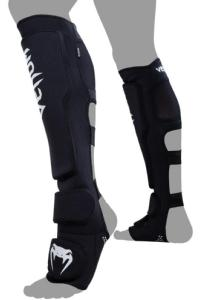 Щитки Venum Kontact Evo Shinguards Black